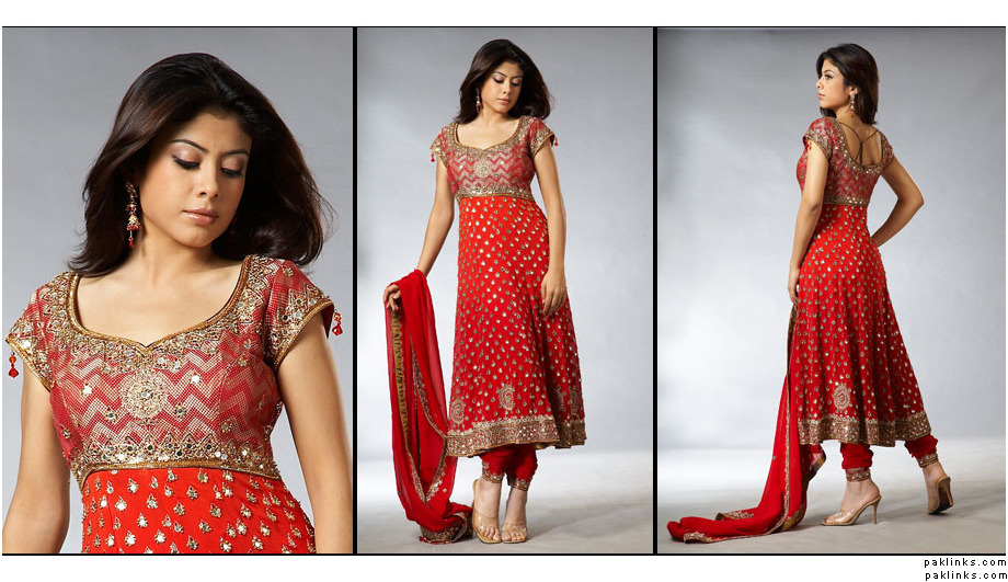 The traditional yet trendy Anarkali
