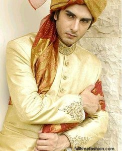 Sherwani for a groom