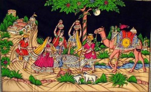 Kalamkari Painting right from the Ramayan Era