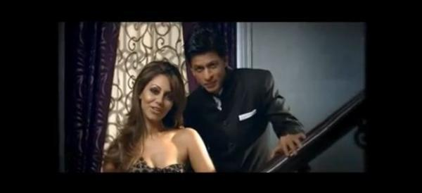 Shah Rukh Khan and wife, Gauri Khan for the D' Decor brand of furnishings
