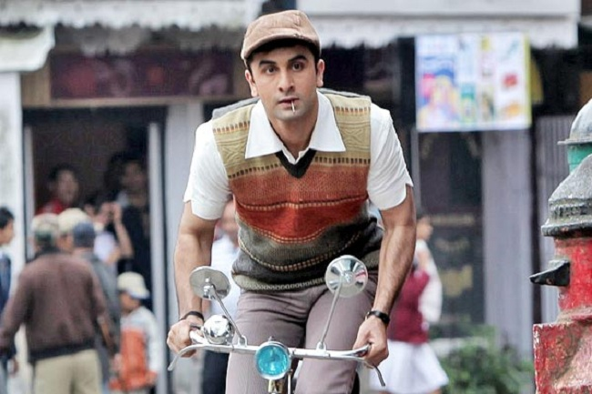 Ranbir Kapoor as 'Barfi'