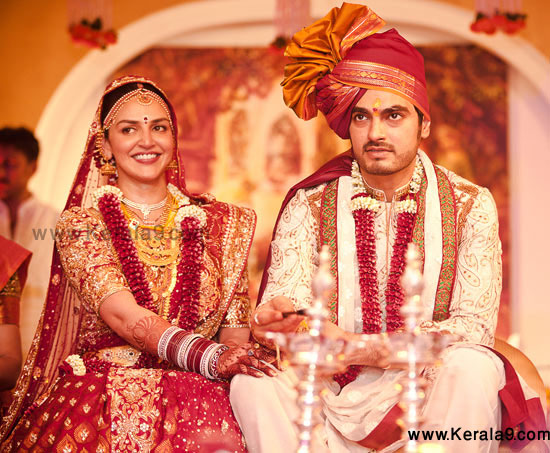 Esha Deol and Bharat Takthani