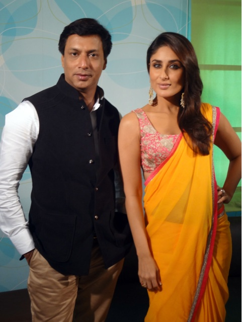Kareena Kapoor and Madhur Bhandarkar at Indian Idol 6 Grand Finale