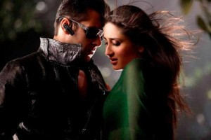 Kareena Kapoor with Salman Khan in Bodyguard