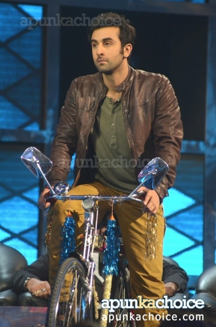 Ranbir Kapoor at Indian Idol6